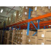 Wholesale conventional SKU double deep racking with spray powder coated finished from china suppliers
