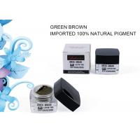 Wholesale Green Brown Cream Pigment Colors Eyebrow Tattoo Pigmentation Inks Lushcolor 5 ML from china suppliers