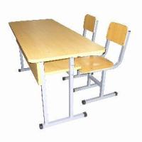 Wholesale Double School Desk and Chair Set (MXZY-264) from china suppliers
