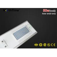 Wholesale Residential Areas Smart Solar Street Light 50W IP65 3 Years Warranty from china suppliers
