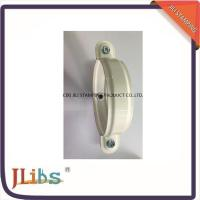 Wholesale Galvanised Steel Lighter Cast Iron Pipe Clamps With White Coating from china suppliers