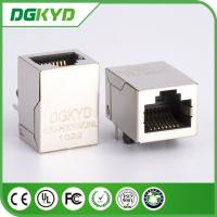 Wholesale Metal shielded industrial modular jack cat6 rj45 connectors, RIGHT ANGLE from china suppliers