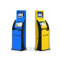 Quality Indoor Dual Display Self Service Payment Kiosk Interactive With POS Terminal for sale