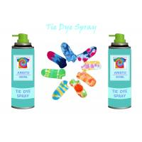 Wholesale Multi Colorful 200ml Tie Dye Spray Paint DIY For Clothing / Scarves / Stockings from china suppliers