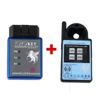 Wholesale Mini ND900 Transponder Key Programmer Plus Toyo Key OBD II Key Pro Support 4C 4D 46 G H Chips from china suppliers