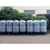 Wholesale 1000L industrial carbon steel air tank for stationary screw air compressor from china suppliers