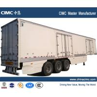 Wholesale CIMC tri-axle 45tons dry van semi trailer from china suppliers