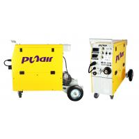 Quality Yellow MIG MAG Welder MIG MMA Welding Machine SINGLE PHASE 220V±15% for sale