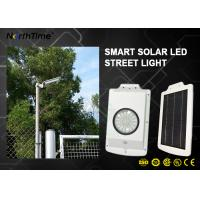 Buy cheap IP65 Outdoor Lighting Solar Garden Street Lights Body Sensor Li Battery Solar Panel from wholesalers