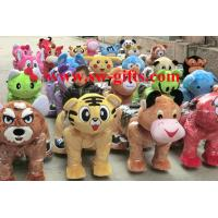 Wholesale China Supplier Kids Ride Plush Walking Animal Rides with Led lights for Sale from china suppliers