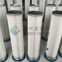 Wholesale FORST Polyester Material Pleated Paper Dust Filter Material Dust Collector Filter Bag from china suppliers