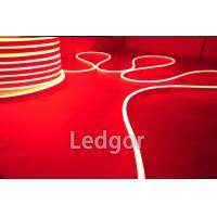 ledgor red color led neon flex slim type