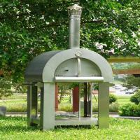 Wholesale outdoor wood fired pizza oven portable used wood burning oven from china suppliers