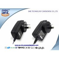 Wholesale 1.5m DC Cable Wall Mount Power Adapter 12V RCM Certificated With Black Color from china suppliers