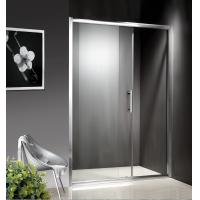 Wholesale 1200-1800X1950mm Replacement Sliding Glass Shower Doors , Shower Cubicle Doors With Double Wheels from china suppliers