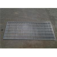 Quality Workshop Platform Galvanized Walkway Grating , Silver Color Floor Mesh Grating for sale