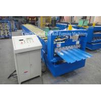 Wholesale Automatic Roof Sheet Galvanized Steel Roll Forming Machine With 19 Row Rollers from china suppliers