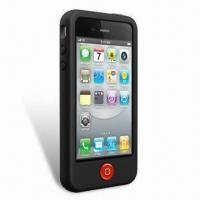 Buy cheap Silicone Cases for Apple's iPhone 4, Comes in Various Colors with Air-vent Design from wholesalers