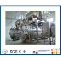 Wholesale Industrial Dairy Milk Pasteurization Equipment , 0.6MPa Bottle Steam Sterilizer from china suppliers