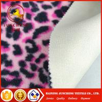 Wholesale 2017 New Printed coral fleece laminated with 5mm sponge for slipper shoe fabric from china suppliers