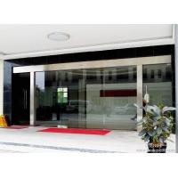 Wholesale Silver Sliding Entrance Door / Automatic Storefront Doors With Touch Switch from china suppliers