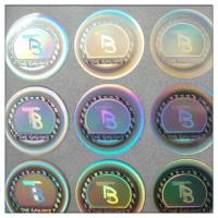 Wholesale High Security Adhesive Security 3d Reflecting Gold  Hologram Sticker Manufacturer from china suppliers