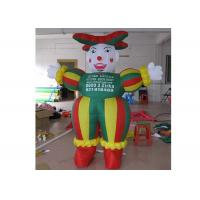 Wholesale 2m Oxford Fabric Promotion Inflatable Cartoon Characters With Logo Printed from china suppliers