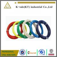 Wholesale top quality lifting 3mm pvc coated steel wire rope cheap stianless steel wire from china suppliers