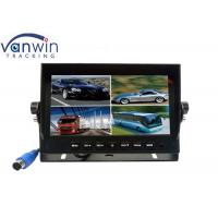 Wholesale 7 Inch 1080P AHD Car Monitor DVR Recording 32G SD card 4 Channels Video Input from china suppliers