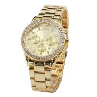 Wholesale OEM Jewelry alloy quartz movement watch , 3 ATM waterproof mens fashion watches from china suppliers