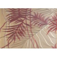 Buy cheap Tempered Decorative Laminated Glass Panels For Light Box / Sofa Background from wholesalers