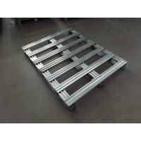 Wholesale Fireproof Euro 6063 T4 T5 Aluminum Pallets GB , JIS , AAMA Standard 1200x2000 from china suppliers
