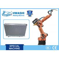 Wholesale CNC Automatic Welding Robot for Car Radiator Seam Welding , Industrial Robotic Arm from china suppliers