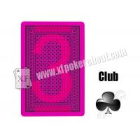 Wholesale Gamble Cheat Lion Invisible Poker Plastic Marked Playing Cards For UV Contact Lenses from china suppliers