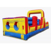 Wholesale Heavy Duty Hire Inflatable Obstacle Course , Inflatable Challenge CYOB-1618 from china suppliers