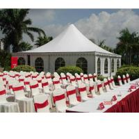 Wholesale Eco friendly Coated PVC tarpaulin tent , Event / Party / Banquet PVC tents from china suppliers
