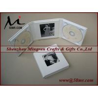 Wholesale Leather Wedding Double cd dvd Album Holder from china suppliers