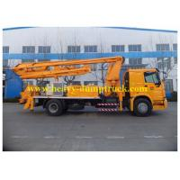 Wholesale 24m Truck Mounted Concrete Pump Truck With SINOTRUK HOWO Chassis 100m3/h Output from china suppliers