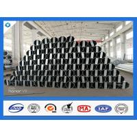 Wholesale 40FT 11900mm 3mm Thick Octagonal Galvanized Electric Steel Poles from china suppliers
