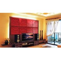 Wholesale PU Red / White 3D Decorative Wall Panel for Interior Decoration from china suppliers