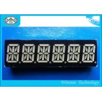 Wholesale RBGYW Color 0.39 Inch 6 Digit 7 Segment Display For Message Board , 49X15X8 Mm from china suppliers