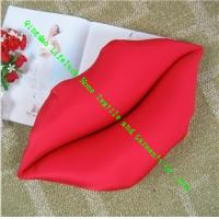 Wholesale Lovely Sexy Red Lips Soft Toy Pillow Cushion , Custom Throw Pillow For Sofa from china suppliers