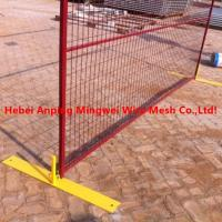 Quality Galvanized Temp Fencing For Construction Vr/ curva valla / muro con pliegues for sale
