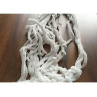 Wholesale White Polyester Chenille Yarn , 5nm Fancy Knitting Yarn Environment Friendly from china suppliers