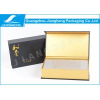 Wholesale Art Paper Cosmetic / Perfume Packaging Boxes Hot Stamping Embossed Book Shape from china suppliers