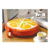 Wholesale Colorful Kitchen Chair Cushion / Memory Foam Floor Cushion Pads , Round from china suppliers