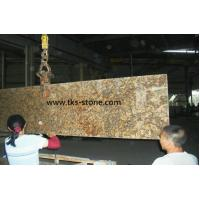 Wholesale Giallo Veneziano Fiorito Yellow granite Kitchen Countertops,Natural stone countertops from china suppliers