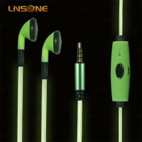 Wholesale 3.5mm stereo earphone for swimming with led light from china suppliers