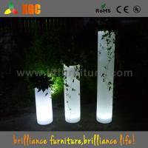 Wholesale 2016 Starlish brand furniture,decoration led illuminated flower pot,led pillar lighted from china suppliers