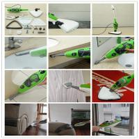 Wholesale Household Hardwood Floor Cleaning Mop , Portable Steam Mop System With 12 Accessories from china suppliers